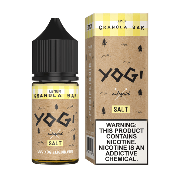 Yogi Salts - Lemon [Salt Nic] (30ML) Nic Salt Products Yogi [Salt Nic] 35mg