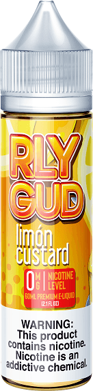 RLY GUD - Limon Custard (60ML) E-juice Brands RLY GUD 0mg