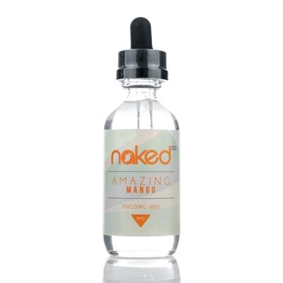 Naked100 - Amazing Mango (60ML) E-juice Brands Naked100 0mg