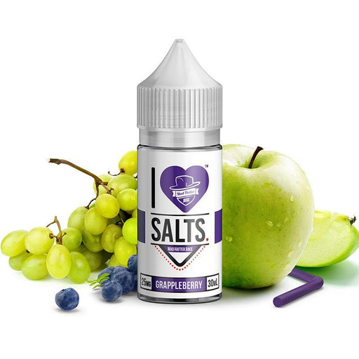I LOVE SALTS - Grappleberry [Salt Nic] (30ML) Nic Salt Products Mad Hatter [Salt Nic] 25mg