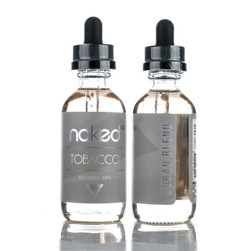 Naked100 - Cuban Blend (60ML) E-juice Brands Naked100 0mg