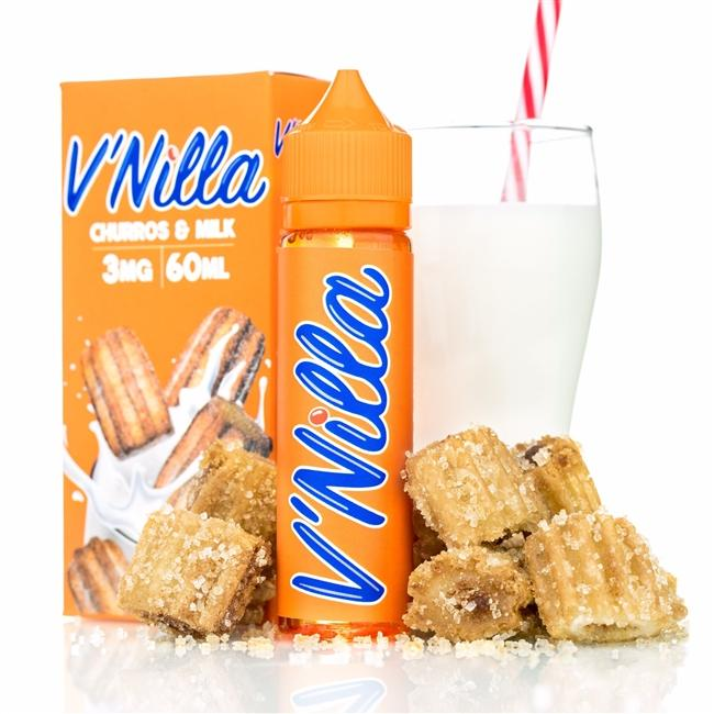 v'Nilla Vapers - Churros & Milk (60ML) E-juice Brands V'Nilla E-Juice 0mg