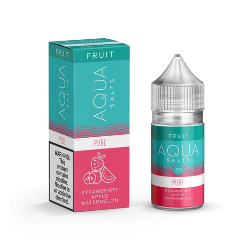Aqua Salts - Pure [Salt Nic] (30ML) Nic Salt Products Aqua [Salt Nic] 35mg