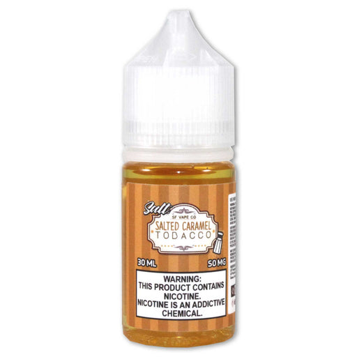 SF Vape Co. - Salted Caramel Tobacco (100ML)