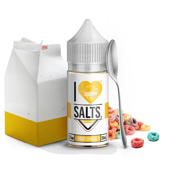 I LOVE SALTS - Fruit Cereal [Salt Nic] (30ML) Nic Salt Products Mad Hatter [Salt Nic] 25mg
