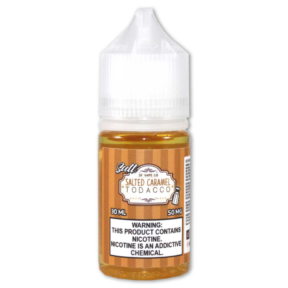 SF Vape Co. - Salted Caramel Tobacco [Salt Nic] (30ML)