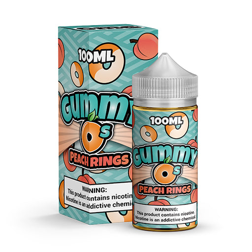 Gummy O's - Peach Rings (100ML)
