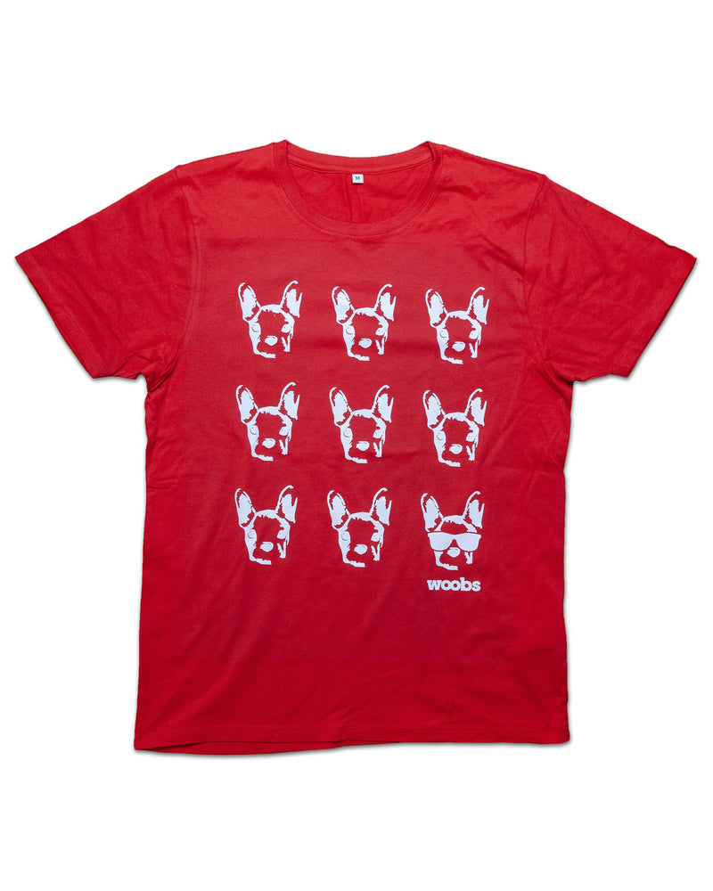 Ruuno t-shirt, red