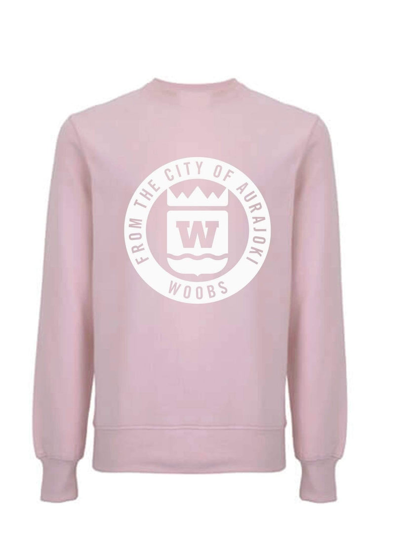 From The City Of Aurajoki, Symbol, Sweatshirt, Powder Pink