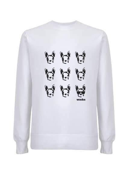 Ruuno sweatshirt, white