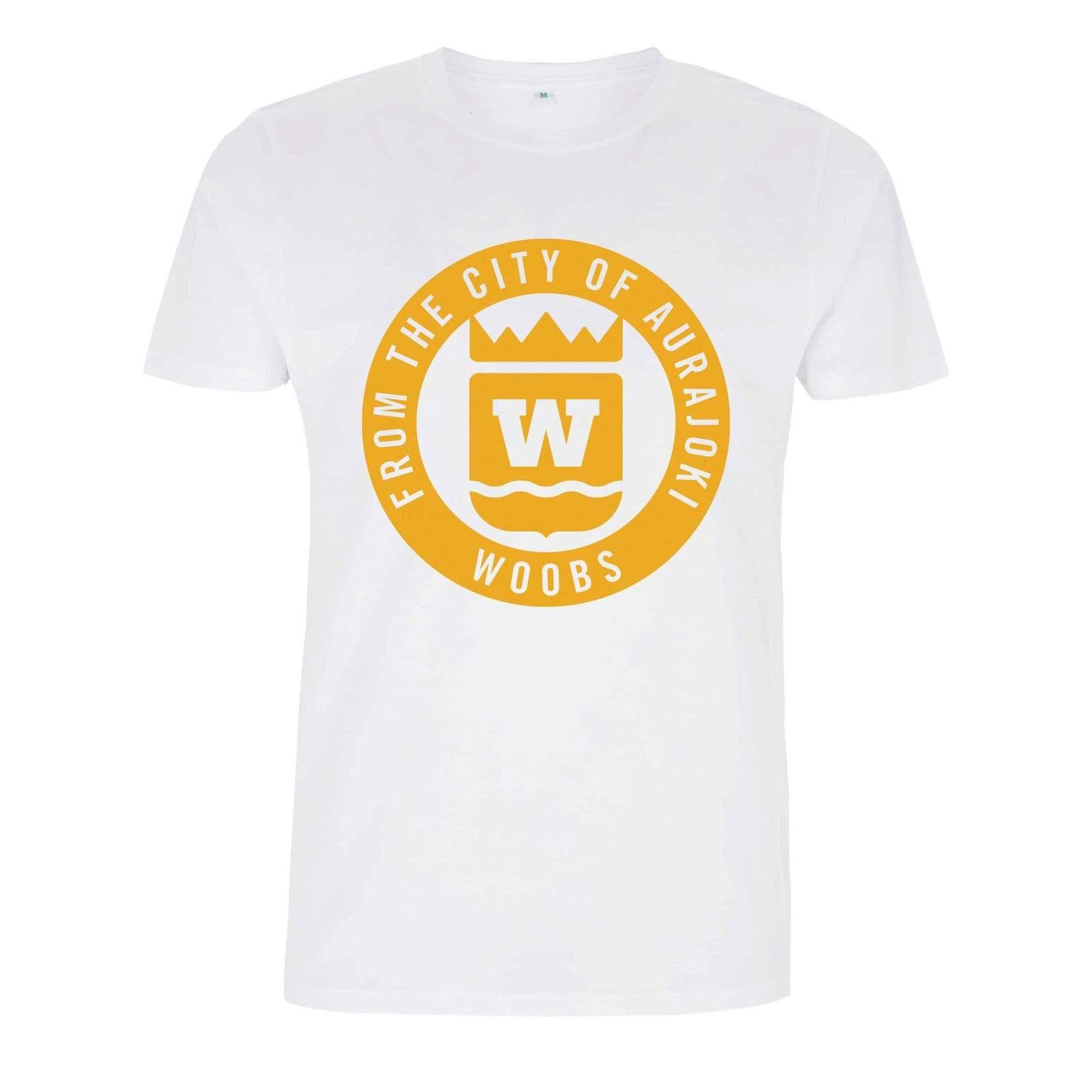 From The City Of Aurajoki, Symbol, T-Shirt, White BF