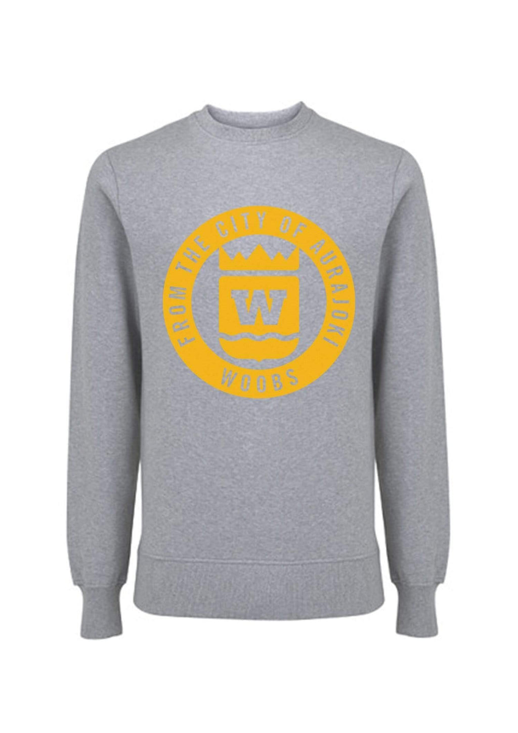 From The City Of Aurajoki, Symbol, Sweatshirt, Gray, PRE-SALE