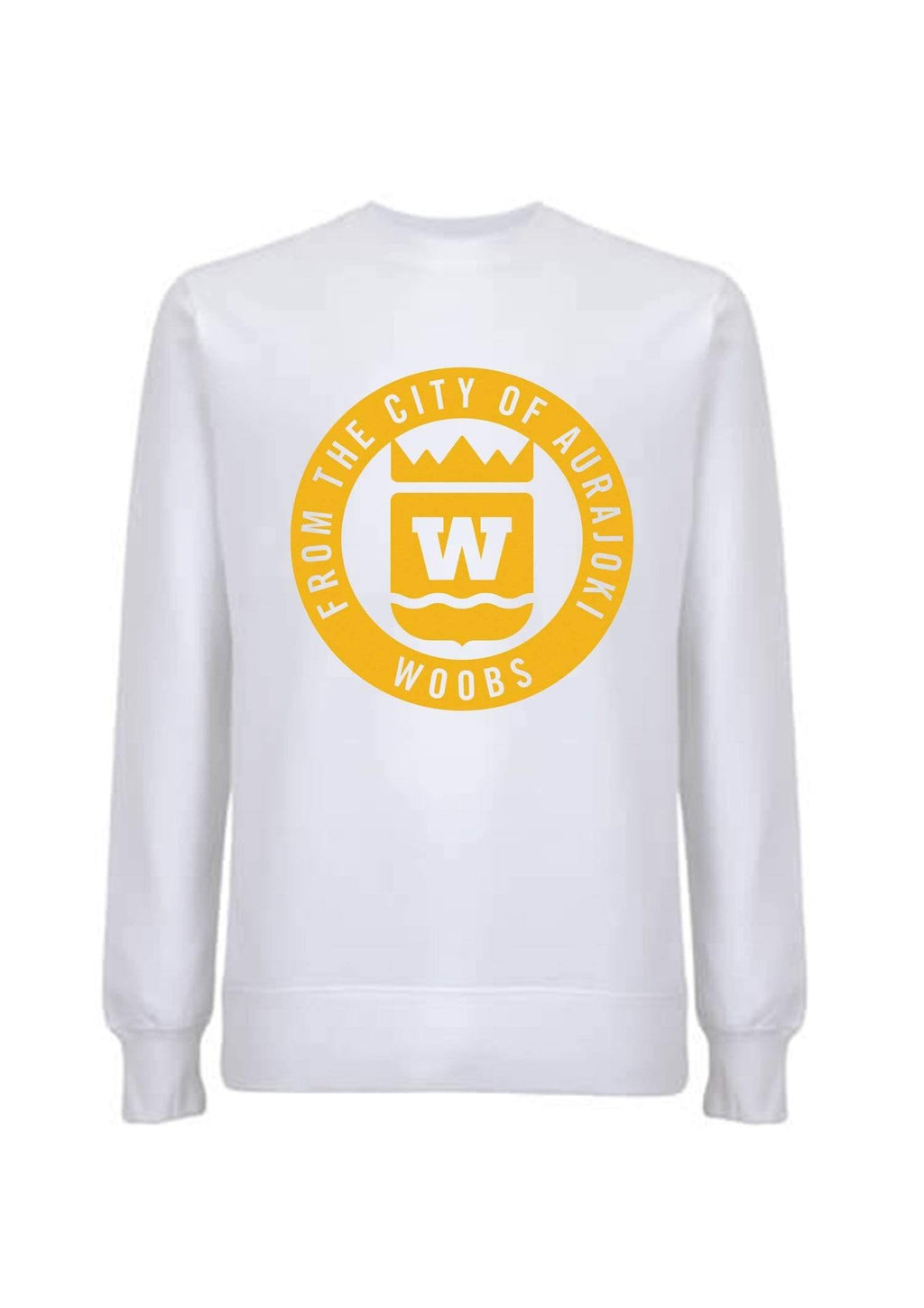 From The City Of Aurajoki, Symbol, Sweatshirt, White, PRE-SALE
