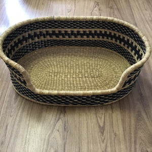 Big Blue Moma Baskets Dog Bed