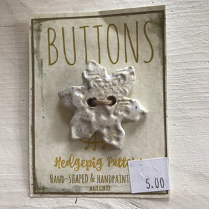 Hedgepig Pottery Buttons