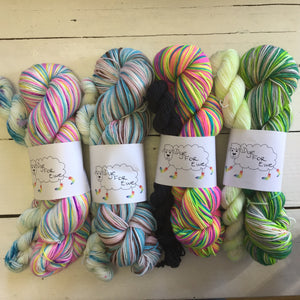 Dye For Ewe Sock Sets, Canadian Hand dyed yarn, FREE shipping on orders @$150 in Canada and the U.S.