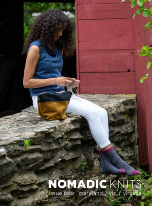 Nomadic Knits Issue 4: Maryland/DC/Virginia Buy in Canada, collect points and earn FREE YARN!
