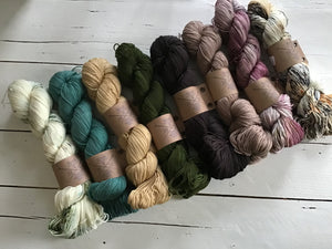 The Farmers Daughter Fibers, Squish Fingering, FREE shipping on orders @$150 in Canada and the U.S.