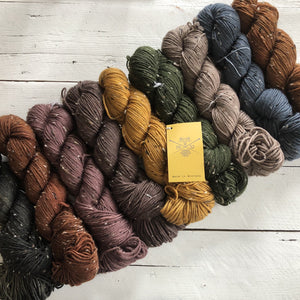 The Farmers Daughter Fibers, Craggy Tweed, FREE shipping on orders @$150 in Canada and the U.S.