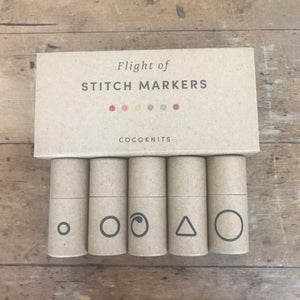 Cocoknits Stitch Marker Flights