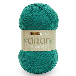 Hayfield Bonus Aran Yarn, SWEATER WEATHER! Get your bang for your buck with these guys! 400 Gram Balls! Collect points and earn FREE YARN!