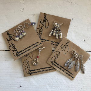 Silver Tings Stitch Markers