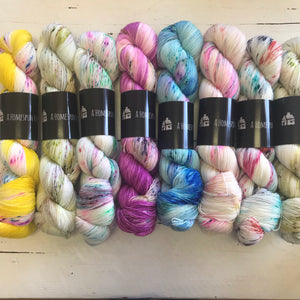 A Homespun House Yarn, FREE SHIPPING on orders @$150. Collect points and earn FREE YARN!