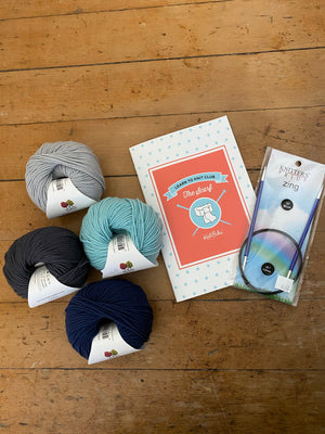 Learn to Knit Club:  Scarf Kit