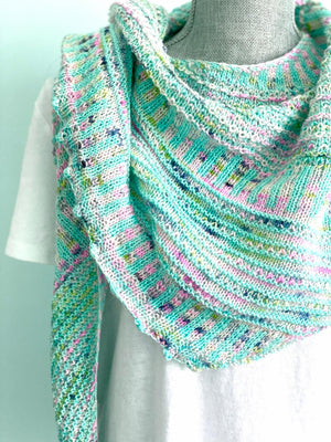 Breathe and Hope- LYS Day Shawl Kit