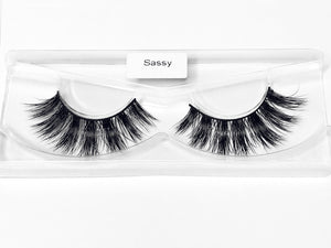 """Sassy"" Luxury Mink Lashes"