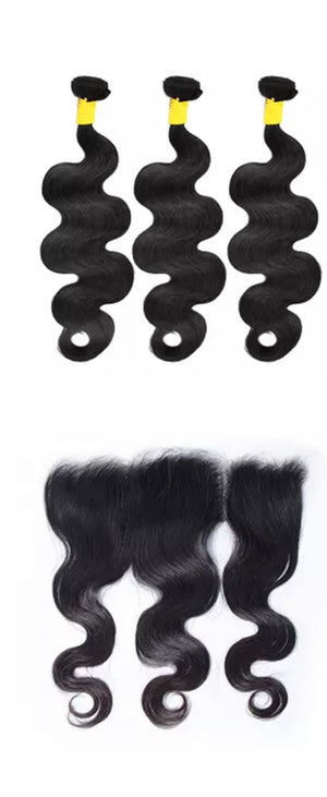 Bundles + HD Frontal Deal Body Wave