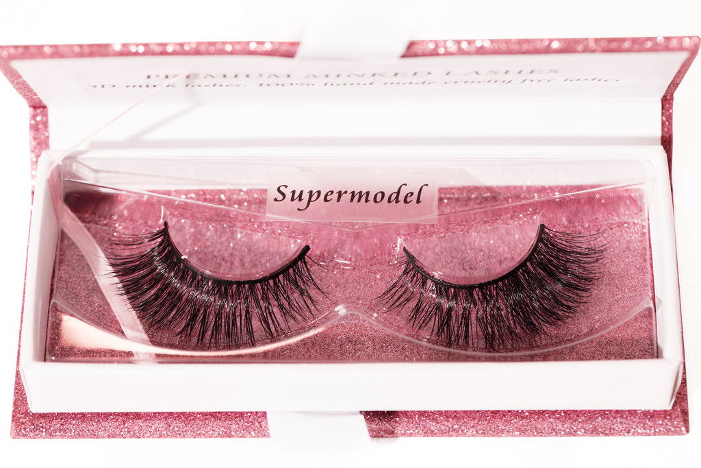 """Supermodel"" Luxury Mink Lashes"