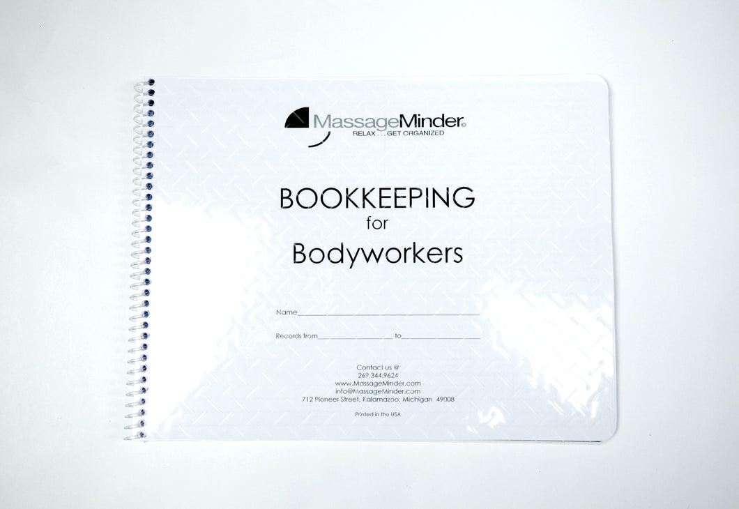 Bookkeeping For Bodyworkers - Bookkeepers Ledger Log Book