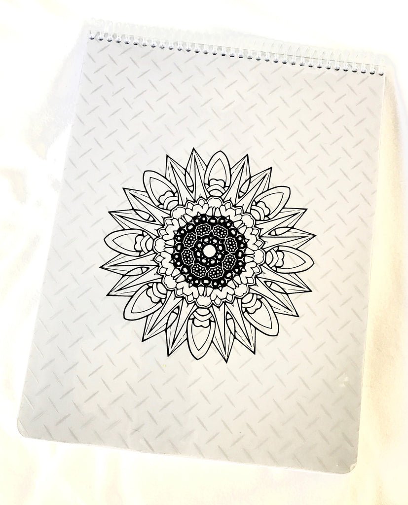 Adult Coloring Book -101 Pages of Mandalas