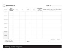 Load image into Gallery viewer, Training Journal For Cyclists