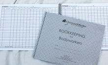 Load image into Gallery viewer, Bookkeeping For Bodyworkers - Bookkeepers Ledger Log Book