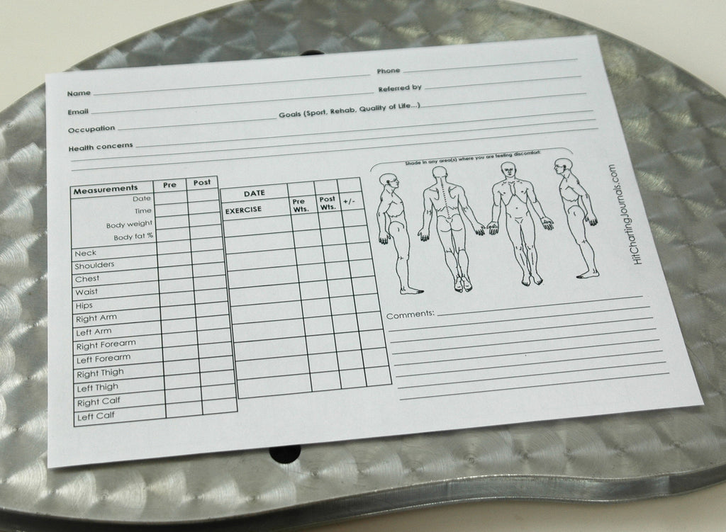 weight training exercise charts high intensity training