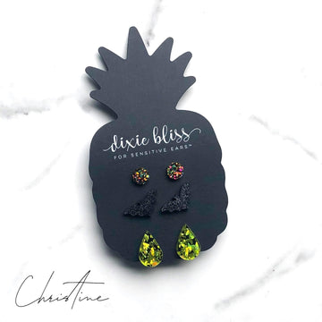 Christine Druzy Earrings