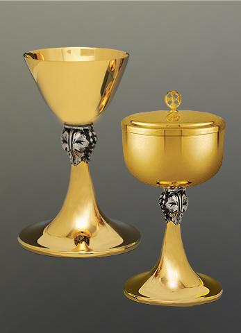 Chalice and Paten #10-045  $1,195 Matching Ciborium  #10-246 $1,395