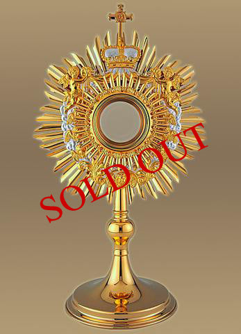 The Baroque Angel Monstrance #10-406