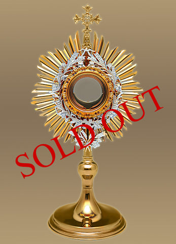 Traditional Roman Monstrance #10-410