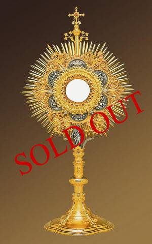 The Lamb of God Roman Monstrance #10-431SP