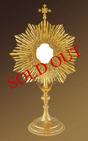 Traditional Roman Monstrance #10-436 (Sold Out)
