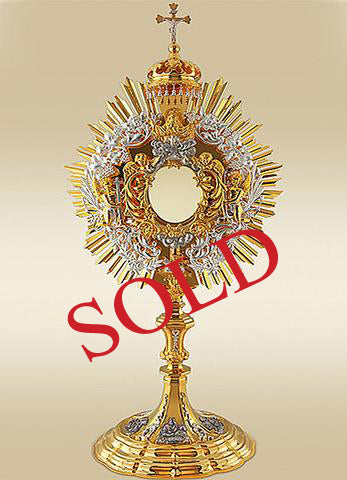 The Majestic Baroque Monstrance #10-438SP