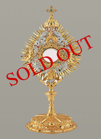 The Royal Baroque Monstrance  #10-442SP   (Sold out)