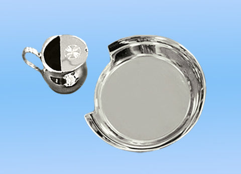 Nickel-plated Christening Set #10-45