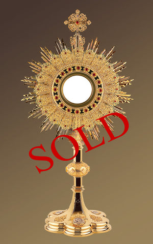 The Holy Family Monstrance #10-453SP