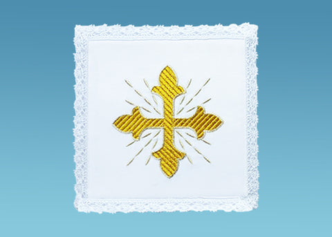 Traditional Gold Cross Pall #10-730