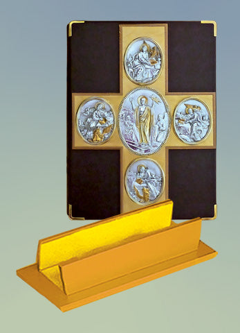Book of the Gospel Leather Stand #10-920G (leather stand only)