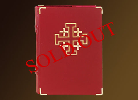 The Jerusalem Cross Book of the Gospel Cover #10-922